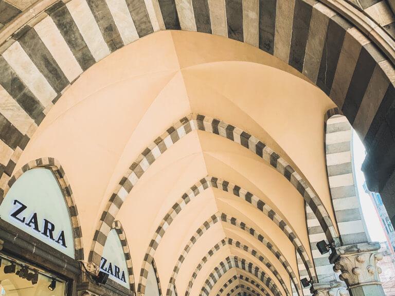 I portici di Via XX settembre
