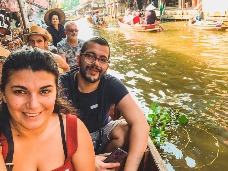Il mio itinerario di 17 giorni in Thailandia: non poteva mancare il mercato galleggiante