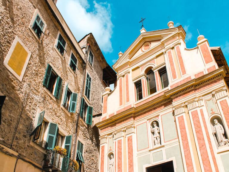 L'oratorio di San Sebastiano, a Dolceacqua