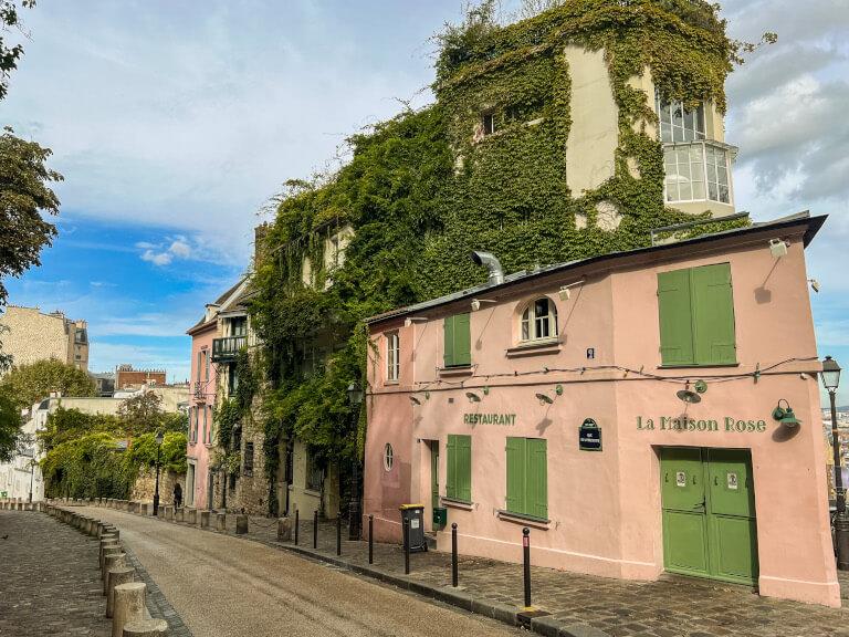 La Maison Rose, Montmartre, Parigi